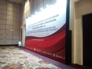 jasa backdrop hotel